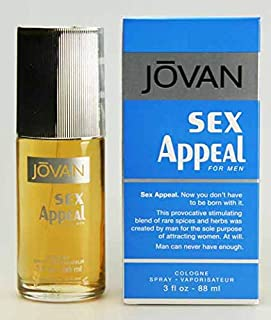Jovan Sex Appeal 90ml Eau De Toilette, 0.5 Kilograms
