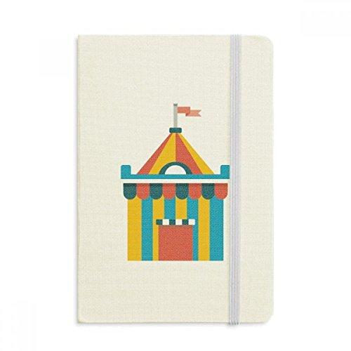 DIYthinker Erstaunlich Lustige Park Zelt Illustration Notebook Stoff Hard Cover Klassisches Journal Tagebuch A5 A5 (144 X 210mm) Mehrfarbig