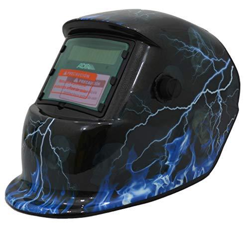 Adir Careta Electronica para Soldar 6715/6716 Oscurece Automatico (Azul)