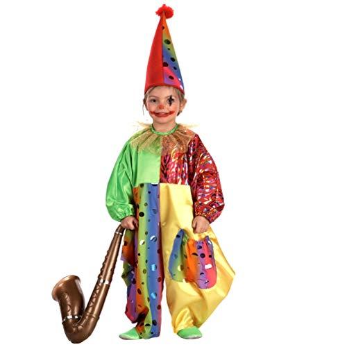 Disfraz Infantil De Payaso Marca El Rey del Carnaval