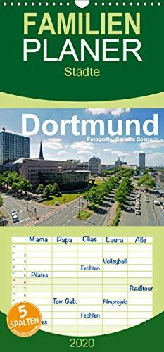 Dortmund - moderne Metropole im Ruhrgebiet - Familienplaner hoch (Wandkalender 2020 , 21 cm x 45 cm, hoch): Dortmund – nicht nur Kohle, Stahl und Bier (Monatskalender, 14 Seiten ) (CALVENDO Orte)