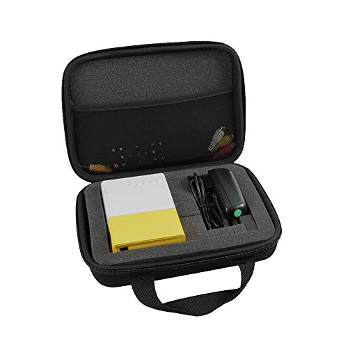 Hermitshell Hard Travel Case for PVO / Meer YG300 / Artlii 2020 New Pocket Projector / Fosa Mini Portable LED Projector (Size 1)
