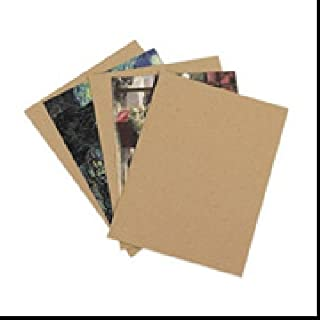 6.125 X 8.375 Inches Custom Size .024 Caliper Thick Thin Cardboard Craft Point 1600 Sheets Chipboard 24pt Shipping and Packing Brown Kraft Paper Board