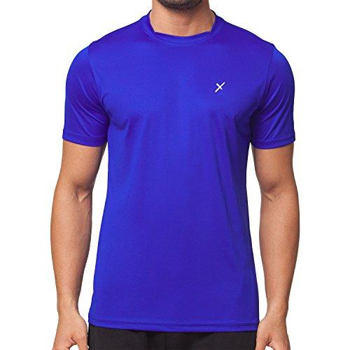 CFLEX Herren Sport Shirt Fitness T-Shirt Sportswear Collection - Royal L