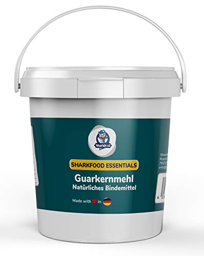 Hochwertiges Guarkernmehl 250 g - Guar Gum Powder Guarkern Mehl Bindemittel Verdickungsmittel Pulver E412 - Low Carb Lebensmittel