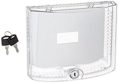 BRAEBURN 5970 Universal Thermostat Guard with Keyed Lock
