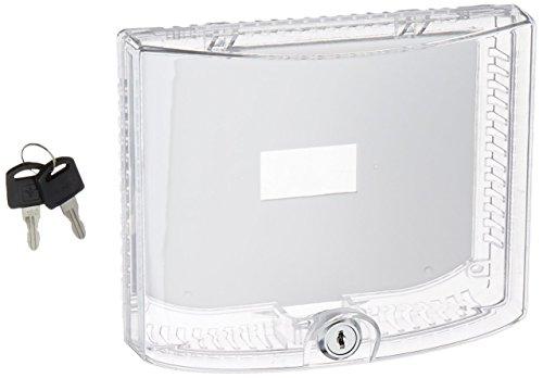 Braeburn 5970 Universal Thermostat Guard with Keyed Lock, White