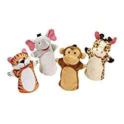 Puppets for DaDaABC online teaching