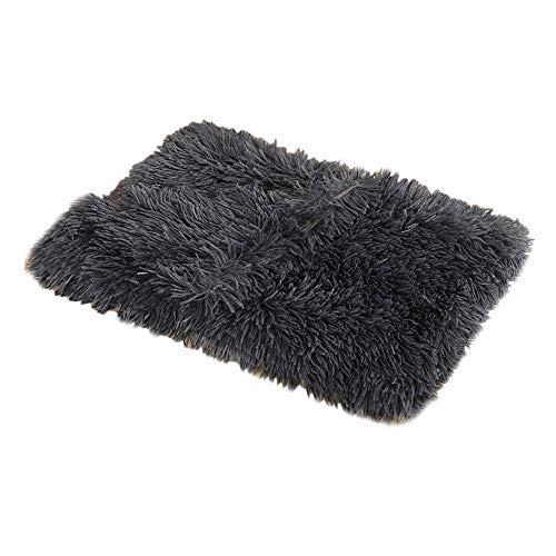 Nfudishpu Fluffy Dog Blanket Cat Blanket with Super Soft Fluffy Pet Blanket Throw For beds and sofas