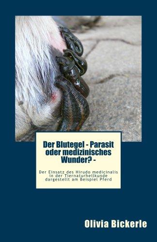 Der Blutegel - Parasit oder medizinisches Wunder? Der Einsatz des Hirudo medicinalis in der Tiernaturheilkunde dargestellt am Beispiel Pferd (Die Tierheilpraxis 1)