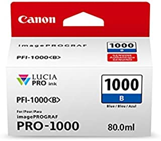 CanonInk Lucia PRO PFI-1000 Blue Individual Ink Tank