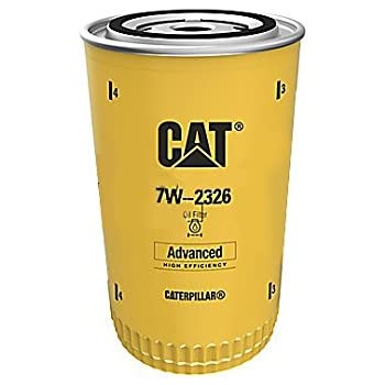 Caterpillar 7W2326 7W-2326 Engine Oil Filter Advanced High Efficiency (Pack of 1)