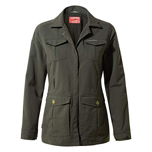 Craghoppers Womens NOSILIFE Lucca Jacket Mid Khaki (UK18)