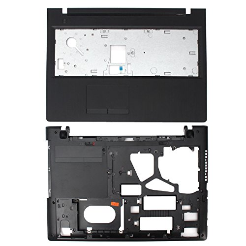 Replacement for Lenovo Z50 80EC Z50-70 Z50-75 Z50-80 15.6 Inches Palmrest TouchPad Upper Case Pack of Bottom Base Shell Lower Cover