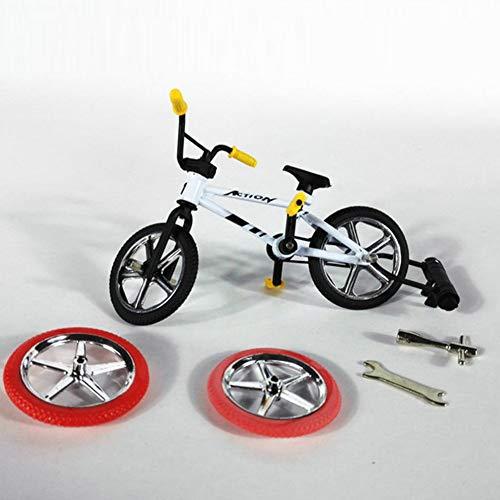 Finger Fahrrad, Mini Legierung Fahrrad Spielzeug Mountainbike Modell Kinder Finger Fahrrad Ventilatoren Spielzeug Geschenk für Jungen Mädchen Kinder