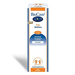 Baby BioFlora is suitable from birth and containing LAB4B, the latest of BioCare's industry-leading LAB4 probiotic and G.O.S., which encourages the growth of friendly bacteria in the intestine of the baby. Specialised proprietary blend of bacteria in...
