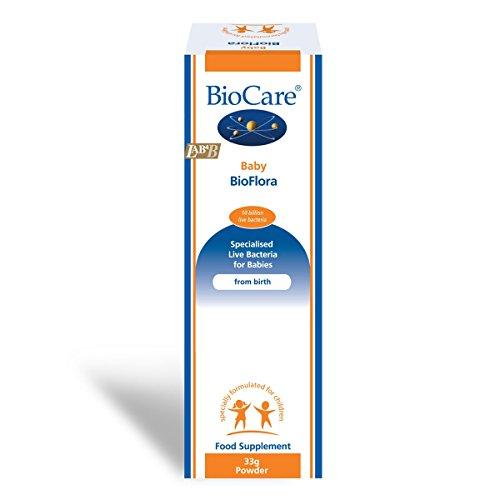 BioCare Baby BioFlora 33g - 10 Billion Live Bacteria per Daily dose