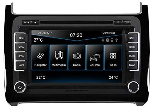 ESX VW Polo 6C (ab 04/2014) 2-DIN Autoradio Navi VN720-VO-P6C-BLACK