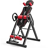 Yonntech Gravity Heavy Duty Inversion Table with Adjustable Headrest & Protective Belt