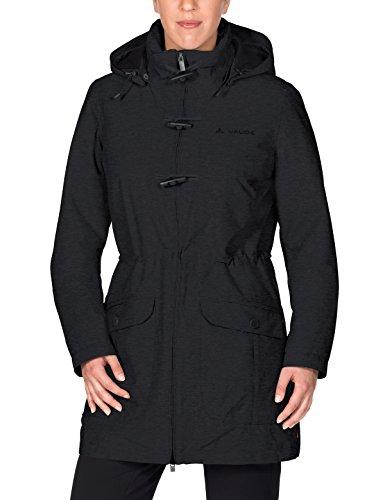 VAUDE Damen Women's Ceduna Coat Jacke, Schwarz(Black), 42