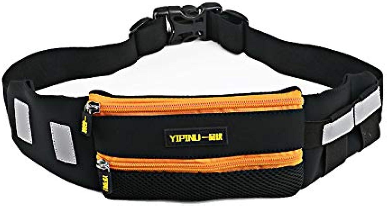 LNLZoutdoor - Sport - Tasche Größe Tasche multifunktionale wasserdicht Handy - Packung körper mit unsichtbaren Reflexion,Orange,15 Zentimeter B07HJ1742H  Ruf zuerst
