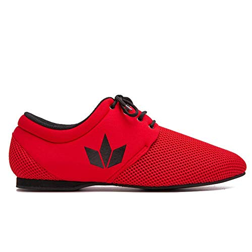 Manuel Reina - Zapatos de Baile Latino Hombre Daniel Sport Red