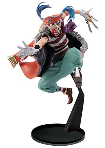 "Banpresto One Piece 6.7"" Buggy Figure"