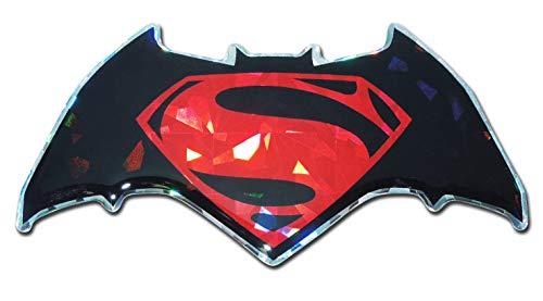Elektroplate Batman v Superman Dawn of Justice Red Reflective Decal Sticker