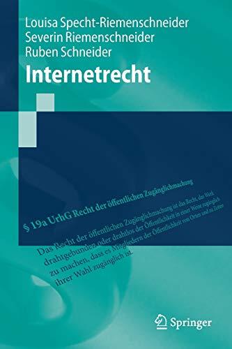 Internetrecht (Springer-Lehrbuch)