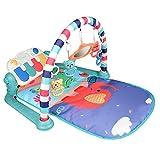 Yavso Gimnasio Piano Pataditas - 3 en 1 Gimnasio Infantil Bebe con Música y Luces Manta de Juego para Bebé, 76 x 60 x 45cm