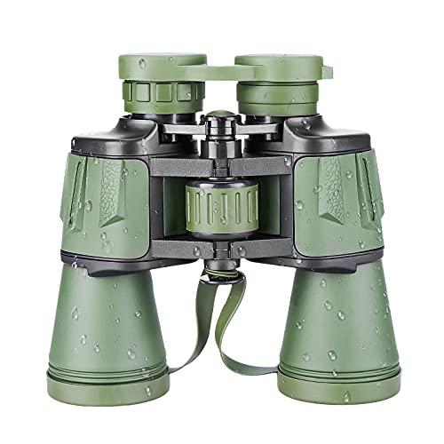 Cheelom Prismáticos Binoculares 12x 50, HD Prismaticos Profesionales - Largo Alcance, Resistentes, Antideslizantes y Repelentes al...