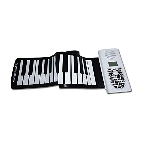 Why Choose LVSSY-Thicker Button 61 Keys Roll Up Piano Beginner Portable Folding Keyboard Send Friend...