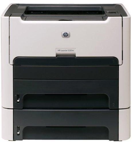 HP LaserJet 1320tn Monochrome Network Printer with Extra Input Tray (Renewed)