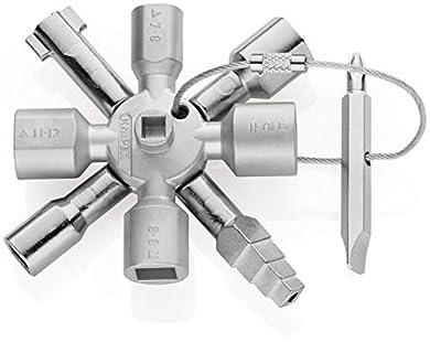 Foto di KNIPEX 00 11 01 TwinKey® per tutti i sistemi di chiusura più comuni 92 mm