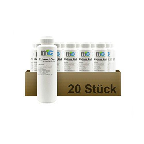IPL Gel Epimed, IPL Kontaktgel für Laser-Haarentfernung, 20 x 1.000 ml