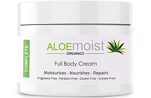 Natural Aloe Vera Body Lotion - Face & Body Moisturizing Cream With Organic Aloe Vera Gel, Vitamin E, Vitamin C, Retinol Cream, Shea Butter – Anti Aging, Stretch Marks, After Sun Lotion, Dry Skin, Acne Scar Cream, Eczema Cream - 8oz