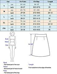 GRACE KARIN Ladies Bodycon Skirt Midi Slim Fit Vintage Party Club Faux Leather Skirt Work Business Skirt Black M #2