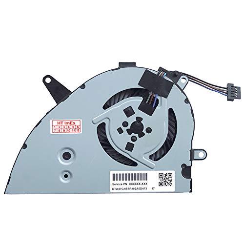 Lüfter Kühler Fan Cooler Version 2 kompatibel für HP Pavilion 15-CS, 15-cs0000, 15-cs0100, 15z-cw100, 15z-cw000, 15z-cw