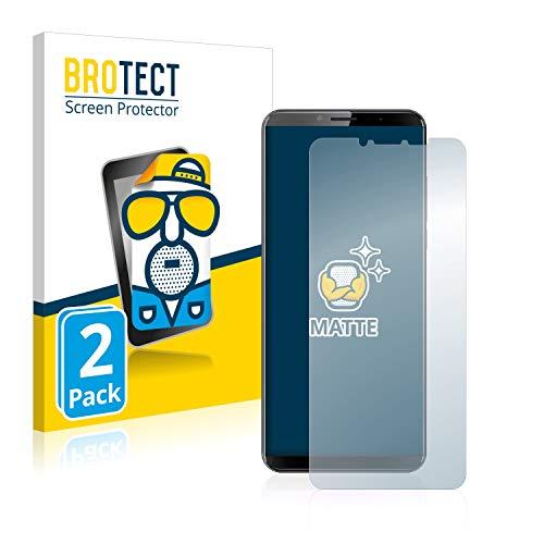 BROTECT 2X Entspiegelungs-Schutzfolie kompatibel mit Cubot X19 Bildschirmschutz-Folie Matt, Anti-Reflex, Anti-Fingerprint