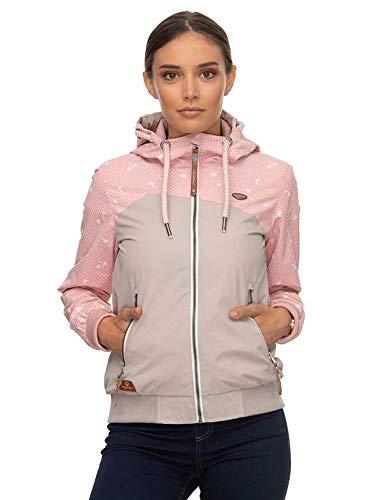 Ragwear Nuggie B Damen Jacke Light pink Größe XXL