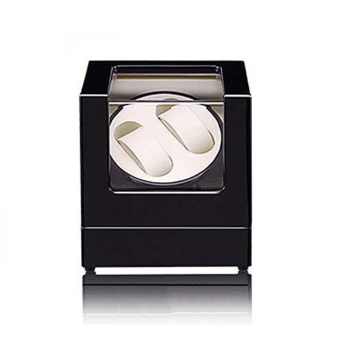 Giratoria automática Watch Winder, Piano Paint extremadamente Silencio motor suave y flexible del reloj de almohadas, un montón de espacio for los grandes relojes adecuados for damas y hombres