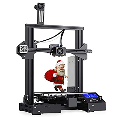 Creality Ender 3 Pro 3D Printer, SUNCOO FDM Prototyping Machine w/Removable Build Surface Plate, Resume Print Function, UL Certified Power Supply, and Build Area of 220x220x250mm (LxDxH)