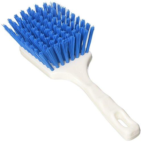 Aricasa Hygiene Products 1007BM borstel, vierkant, met manicure, blauw