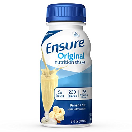 Ensure Original Nutrition Shake, Banana Nut, 6 Little Bottles