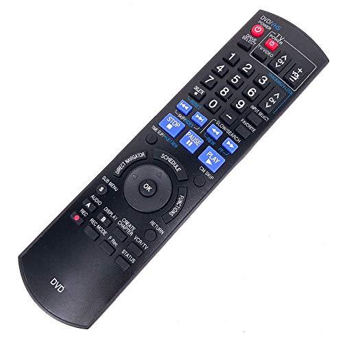 New Remote Control for Panasonic DVD N2QAYB000197 DMR-EZ48V Panasonic DMR EZ485V