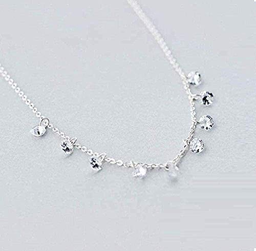 niuziyanfa Co.,ltd Necklace High Jewelry Double Row Geometric Round Stand Personality Necklace