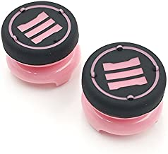 2 x Analog Thumbsticks Cap Thumb Stick Grips Joystick Cap High Extender Cover for Playstation 4 for PS4 Xbox 360 PS3 Controller (Pink)