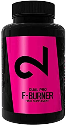 Dual Pro F-Burner | Fatburner Pills for Men and Women | 100 Vegan Caps | Weight Loss Without Sports | Natural Appetite Suppressant | Extremely Strong Natural Dietary Supplement |Without Additives