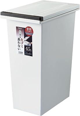 ゴミ箱 エバンMP密閉プッシュペール45L ホワイト