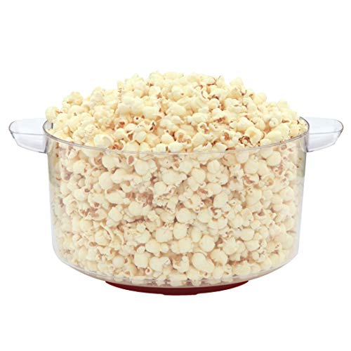 Product Image 5: West Bend 82505 Stir Crazy Electric Hot Oil Popcorn Popper Machine Offers Large Lid for Serving Bowl and Convenient Storage, 6-Quart, Red